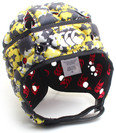 Ventilator Kids Rugby Headguard Black/Flash Yellow