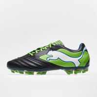 Puma Powercat 1 SL FG Football Boots Black/Jasmine Green/Monaco Blue