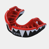 OproShield Platinum Fangz Mouth Guard Black/White/Red