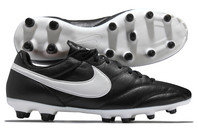 Nike The Premier FG Football Boots Black/White