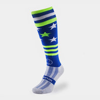 Wackysox Work Hard Play Harder Rugby Socks