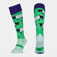 Wackysox Love Ewe Rugby Socks