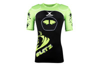Blitz Body Armour Black/Lime