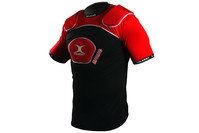 Atomic V2 Body Armour Black/Red