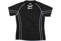 BLK Icon S/S Match Rugby Shirt Black