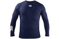 Base Layer Kids Cold LS T-Shirt Navy