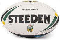 Steeden NRL Replica Rugby Match Ball