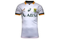South Africa Springboks 2014/15 Alternate Test S/S Rugby Shirt Real White