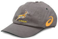 South Africa Springboks 2014/15 Rugby Cap Stone/Bottle Green
