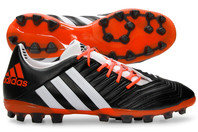 adidas Predator Incurza TR AG Rugby Boots Black/White/Solar Red