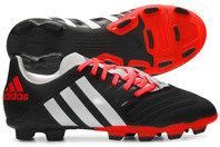 adidas Predator Incurza TRX FG Kids Rugby Boots Black/White/Solar Red