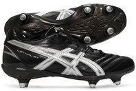 Asics Lethal ST SG Rugby Boots Black/White/Silver