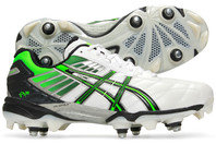 Asics Gel Lethal Hybrid 4 SG Rugby Boots White/Black/Neon Green