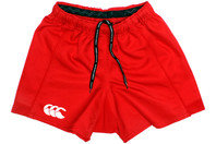 Advantage Rugby Shorts Flag Red