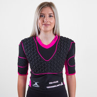 Triflex Ladies XP3 Rugby Body Armour Black/Pink