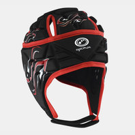 Inferno Rugby Head Guard Black/Red