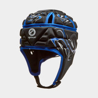 Inferno Rugby Head Guard Black/Blue