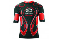 Inferno Long Rugby Body Armour Black/Red