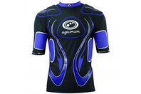 Inferno Long Rugby Body Armour Black/Blue