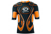 Inferno Long Kids Rugby Body Armour Black/Orange