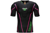 Velocity Long Rugby Body Armour Black/Purple/Pink