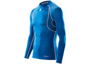 Carbonyte Functional Thermal L/S Round Neck Top Royal Blue