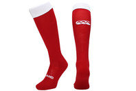 England 2014/15 Alternate Players Rugby Socks Crimson Red