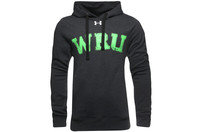Wales 2014/15 WRU Crest Hooded Rugby Sweat Black/Green