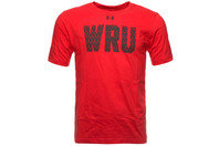 Wales WRU 2014/15 Kids Graphic Rugby T-Shirt Red/Black