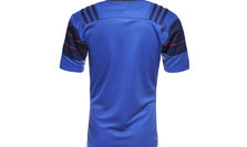 France 2014/15 Home S/S Replica Rugby Shirt Blue/Dark Blue