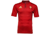 France 2014/15 Alternate S/S Replica Rugby Shirt Power Red