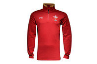 Wales WRU 2015/16 Players 1/4 Zip Rugby Travel Jacket