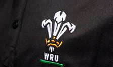 Wales WRU 2015/16 Players Media Rugby Polo Shirt