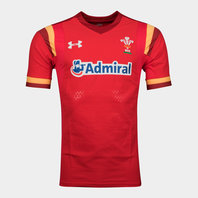 Wales WRU 2015/16 Home Test Players Rugby Shirt