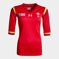 Wales WRU RWC 2015 Home Ladies Replica Rugby Shirt