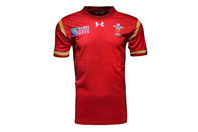 Wales WRU RWC 2015 Home Kids Replica Rugby Shirt