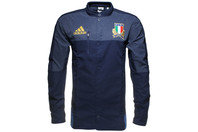 adidas Italy 2016/17 Players Rugby Anthem Jacket