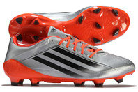 adidas adiZero RS7 Pro TRX FG Rugby Boots Silver Metallic/Core Black/Solar Red