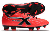 X Blades Legend Flash FG Kids Rugby Boots Bionic Crimson