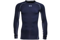 Heat Gear Long Sleeve Compression Shirt Midnight Navy
