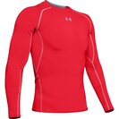 Heat Gear Long Sleeve Compression Shirt Red