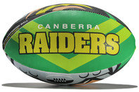Steeden Canberra Raiders NRL Supporters Rugby Ball