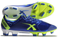 X Blades Sniper Speed Bionic FG Rugby Boots Electric Blue/Yellow