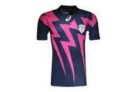 Asics Stade Francais Home 2015/16 Replica S/S Rugby Shirt