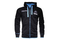 Glasgow Warriors 2015 Cotton Full Zip Hooded Rugby Sweat