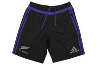 adidas New Zealand All Blacks 2016 Players Woven Rugby Training Shorts