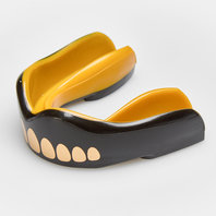 Safejawz Goldie Mouth Guard Black/Gold