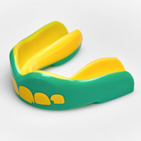 Safejawz Ogre Mouth Guard Green/Yellow