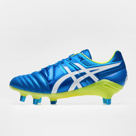 Asics Gel Lethal Tight Five SG Rugby Boots Electric Blue/White/Flash Yellow