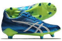 Asics Gel Lethal Speed SG Rugby Boots Electric Blue/White/Flash Yellow